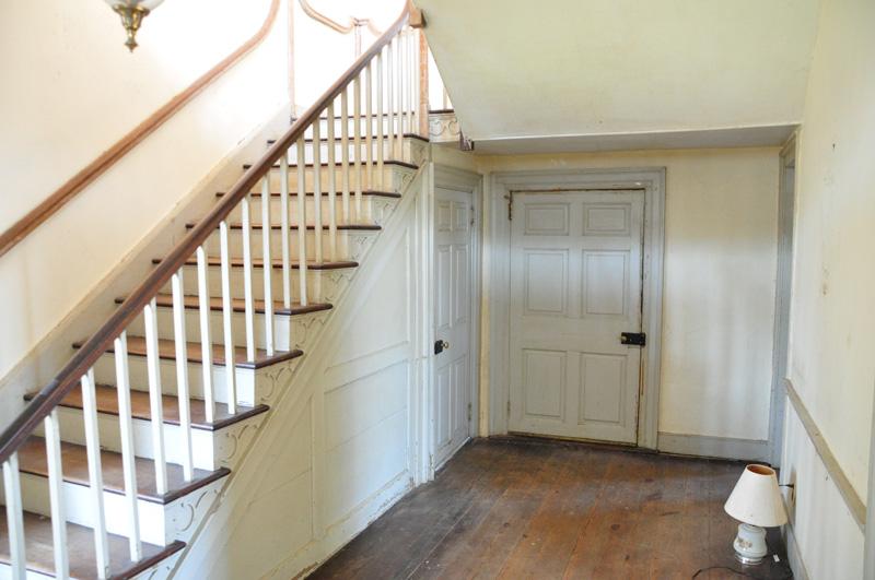 main staircase hallway