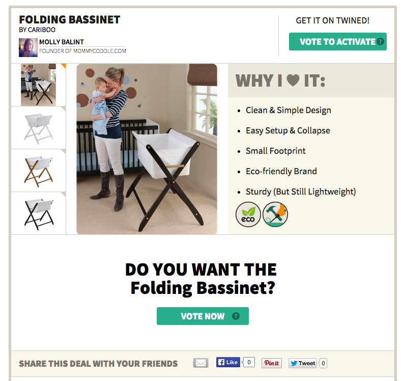 A review of the best baby bassinet from Cariboo