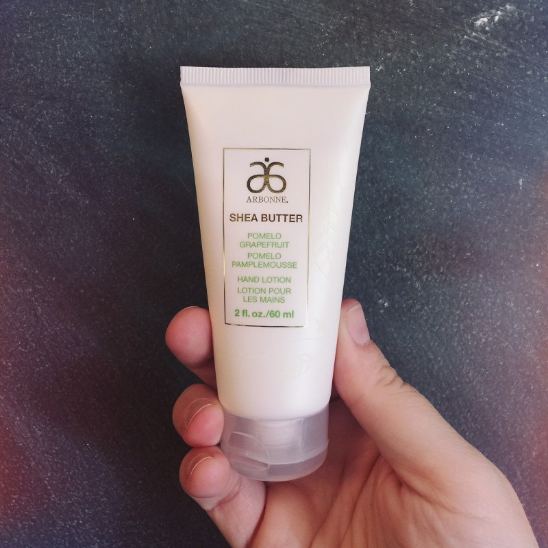 Arbonne :: Pure. Safe. Beneficial. Hand Lotion Grapefruit Pomelo via MommyCoddle.com
